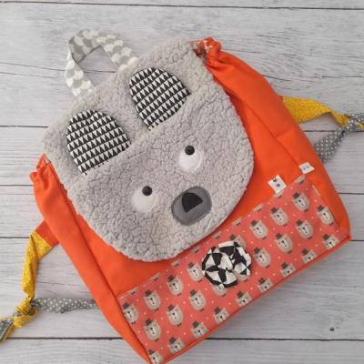 Sac a dos maternelle ours